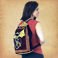 Dragon Backpack - Bags, Here Be Dragons!