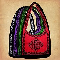 Oversized Celtic Shoulder Bag