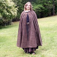 Charcoal Grey Full Circle Cloak with Pockets - Cloaks, Samhain / Halloween, Top Picks for Father's Day