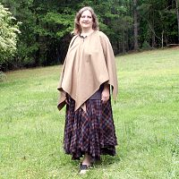 Light Brown Pixie Cloak - Cloaks, Samhain / Halloween