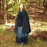 Half-Circle Polar Fleece Cloak