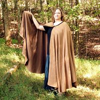 Full Circle Brown Cloak