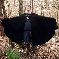 Full Circle Black Cloak