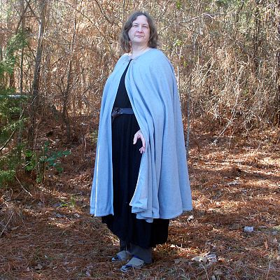 Light Blue Full Circle Cloak