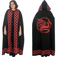 Red Dragon Cloak - Cloaks, Here Be Dragons!
