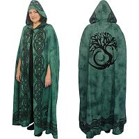 Green Tree of Life Cloak - Cloaks, Trees & Greenman