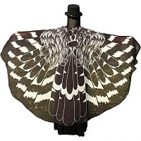 Black Bird Feather Fairy Wings