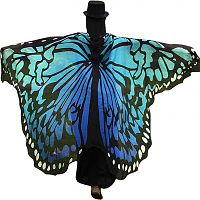 Summer Blue Butterfly Fairy Wings - Butterfly Fairy Wings, Butterflies & Dragonflies, Fairies, Samhain / Halloween
