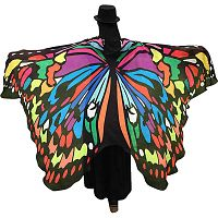 Rainbow Butterfly Fairy Wings - Butterfly Fairy Wings, Butterflies & Dragonflies, Fairies, Samhain / Halloween