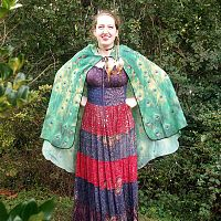 Peacock Feather Fairy Wings