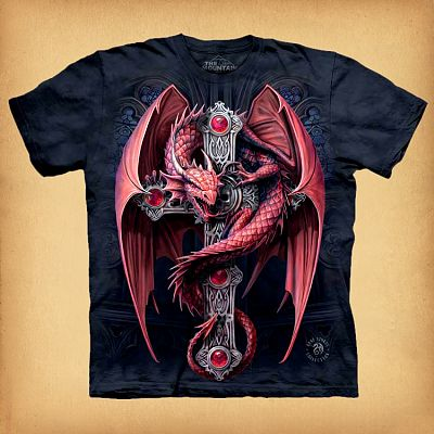 Gothic Guardian T-Shirt - T-Shirts, Here Be Dragons!