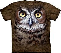 Great Horned Owl T-Shirt - Clearance, Clearance T-Shirts