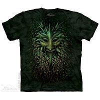 Green Man T-Shirt - Small