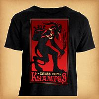 Krampus T-Shirt - Updated Design - T-Shirts, Yule / Christmas