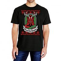 Ugly Christmas Krampus T-Shirt - LARGE ONLY