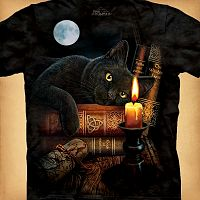 The Witching Hour T-Shirt - T-Shirts, Cats, Lisa Parker, Samhain / Halloween