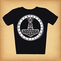 Thor's Hammer T-Shirt - Pagan, T-Shirts, Thor's Hammer, Gifts for the Proud Pagan