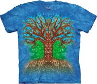 Tie Dye Tree T-Shirt - Clearance T-Shirts, Clearance