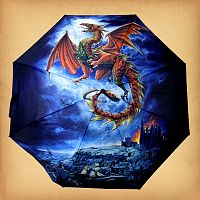 Red Dragon Umbrella