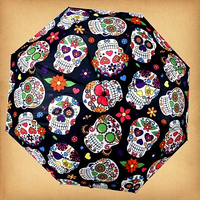 Day of the Dead Umbrella