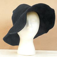 Dark Grey Witch Hat