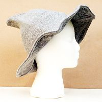Light Grey Witch Hat