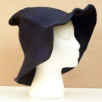Navy Witch Hat