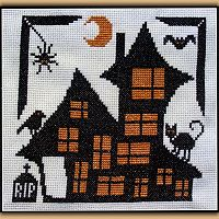 Animal House Cross Stitch Pattern