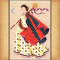 Dance of the Autumnal Equinox Cross Stitch Pattern