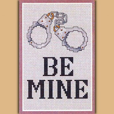"""Be Mine"" Cross Stitch Pattern"