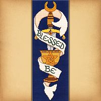 Blessed Be Banner Cross Stitch Pattern
