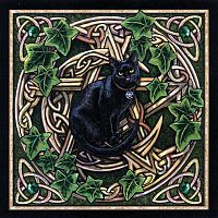 Cat Pentagram Cross Stitch Pattern