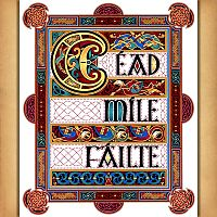 """Cead Mile Failte"" Cross Stitch Pattern"