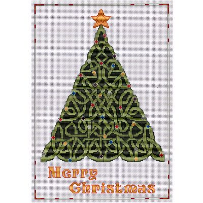 Celtic Christmas Tree Cross Stitch Pattern for You at Gryphon's Moon