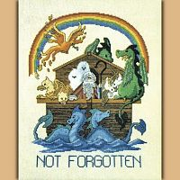 Not Forgotten Cross Stitch Pattern