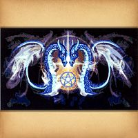 Dragon Kiss Cross Stitch Pattern