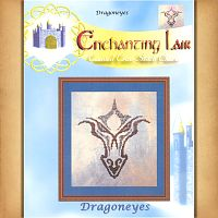 Dragoneyes Cross Stitch Pattern