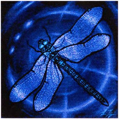 Dragonfly Cross Stitch Pattern