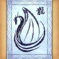 Dragonwings Cross Stitch Pattern - Counted Cross-stitch Patterns - Celtic, Pagan, Wiccan, Goddess, Fantasy and more, Here Be Dragons!