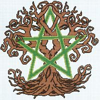 Earth Spirit Cross Stitch Pattern