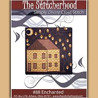 Enchanted Cottage Cross Stitch Pattern - Clearance Cross-stitch Patterns, Clearance