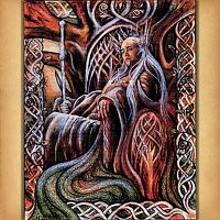 Forest King Cross Stitch Pattern