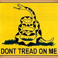 "Gadsden ""Don't Tread On Me"" Cross Stitch Pattern"