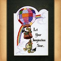 """Imagination"" Cross Stitch Pattern"