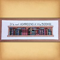 """It's Not Hoarding…"" Cross Stitch Pattern"