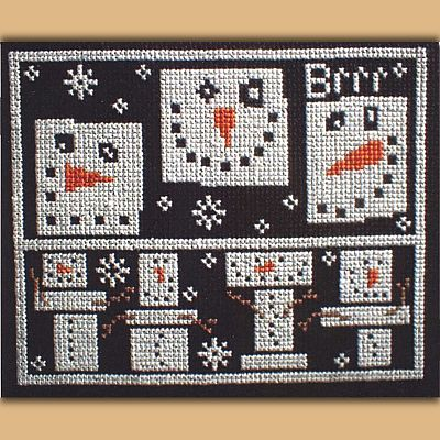 N'ice Cubes Pattern - Clearance Cross-stitch Patterns, Clearance