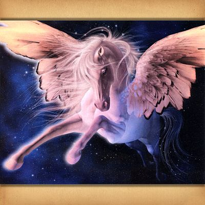 """Pegasus"" Cross Stitch Pattern"