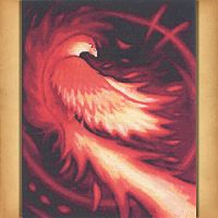 """Phoenix Flame"" Cross Stitch Pattern"