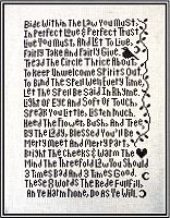 Rede Sampler Cross Stitch Pattern
