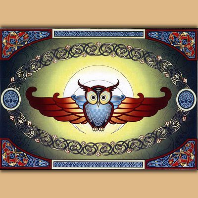 """Shape Shifters Flight"" Cross Stitch Pattern"